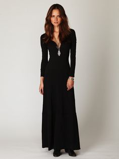 b511f213e79d Free People Miles of Henley Dress
