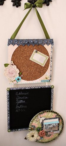 Hanging Message Board by ScrapGoo