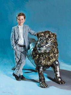 Mikael Melbye - Galleri - Officielle portrætter - Hans Kongelige Højhed Prins Christian