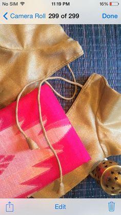 S104- Pink Kota silk Saree on Etsy, $120.00
