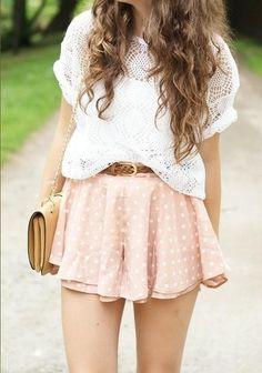 J'adore cette jupe