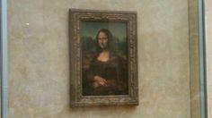 No pictures please!  Oops!  Louvre, Paris