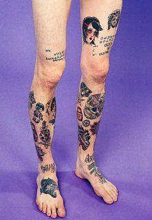 Zobacz zdjęcie Tatuaże na nogach