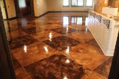 Concrete Staining & Resurfacing - Oklahoma City OK