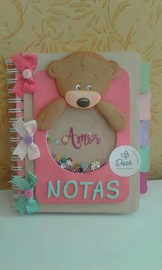 Cute and creative Foam Crafts, Diy And Crafts, Paper Crafts, Baby Mini Album, Cute Notebooks, Paper Packaging, Decorate Notebook, Notebook Covers, Handmade Books