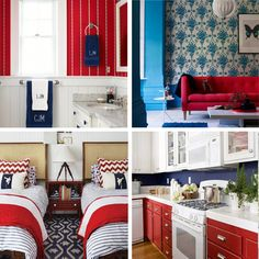 How to: decorate with red, white & blue