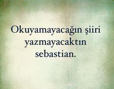 yazmayacaktin :)