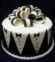 Groom' Tuxedo Cake great for bachelor party!