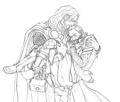 Prompt: 'What if Loki had been so injured that Thor had had to 'princess carry' him during their departure from Midgard Loki Sad, Thor X Loki, Marvel Art, Marvel Avengers, Stony Avengers, Baby Avengers, Yuri, Cute Stories, Comic Movies