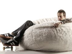 Cool Dads like Tony Hawk know a good thing when they sit in it.   #Lovesac #Sacs #FathersDay