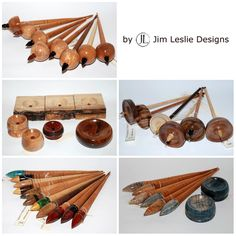 Jim Leslie Design Spindles and Bowls - Tibetan Spindles - Supported Spindle Bowls - Top Whorl Spindles - Russian Spindles - Infused Curly Maple Russian Spindles Spinning Wool, Spinning Wheels, Hand Spinning, Drop Spindle, How To Dye Fabric, Ancient Art, Yarns, Fiber Art, Turning