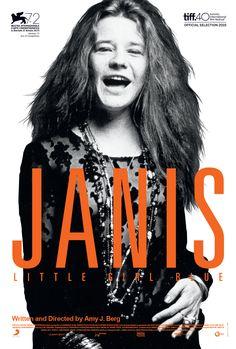 Janis Joplin documentary - http://johnrieber.com/2015/11/16/janis-joplin-little-girl-blue-documentary-rocks-greatest-voice/