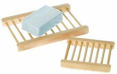 Wooden Dowel Soap Saver Dish - Small  #EBubbles #Beauty