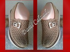 Crochet Shoes, Bead Crochet, Shoe Boots, Baby Shoes, Slippers, Vans, Booty, Knitting, Sneakers