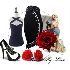 Rockabilly Pencil skirt from CultofCandy.com for only $28.50.