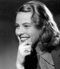 Portrait of Ingrid Bergman, 1940's