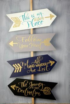 Personalized arrow word wood signs ideas for your home 63 - Savvy Ways About Things Can Teach Us : Personalized arrow word wood signs ideas for your home 62 Pallet Art, Pallet Signs, Pallet Quotes, Diy Pallet, Pallet Wood, Pallet Painting, Save On Crafts, Diy And Crafts, Arrow Decor