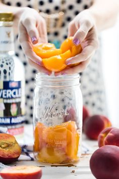 Homemade Peach Tea Vodka is an easy and fun DIY liqueur. Easily made ...