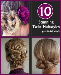 10 Stunning Twist Hairstyles For Short Hair