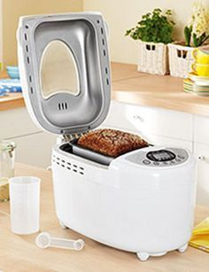 Recetas para la panificadora del Lidl Bread Machine Recipes, Bread Recipes, Cooking Recipes, Keto Recipes, Our Daily Bread, Pan Bread, Artisan Bread, Sin Gluten, Cooking Time