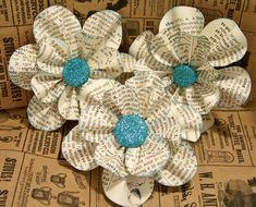 vintage-book-paper-flowers
