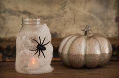 Lanterna tenebrosa para sua decoração de #halloween!