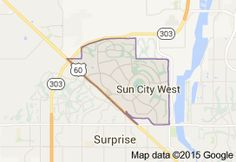 Image result for map of surprise az and surrounding area arizona sun city west map google search publicscrutiny Gallery