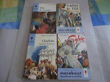 Marabout Junior Demoiselle: lot de 4 éditions originales.