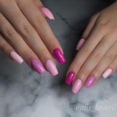 """Nails_lover0 on Instagram: """"Różowa wariacja 🤪💖 Lubicie różowe pazurki? 💋 • • • #pinknails #różowepaznokcie #paznokcieżelowe #paznokcie #paznokciehybrydowe #summernails…"""""""