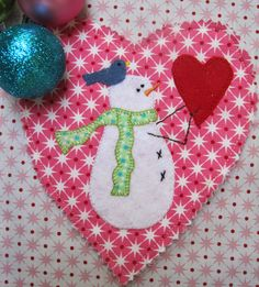 A Sweet Little Snowman... - The House on the Side of the Hill