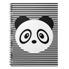 Whether you're a top chef or a new cook in training, keep all your favorite recipes in one place with Panda Notebook recipe books from Zazzle. Start serving up your favorite dish and get your hands on a recipe book today! Custom Binders, Panda Bear, Notebook, Symbols, Books, Libros, Icons, Book, Pandas