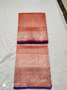 Red Venkatagiri Saree New Design Gadwal Sarees Silk, Handloom Saree, Kerala Jewellery, Indian Jewellery Design, Pattu Sarees Wedding, Saree Models, Indian Heritage, Saree Dress, Pure Silk Sarees
