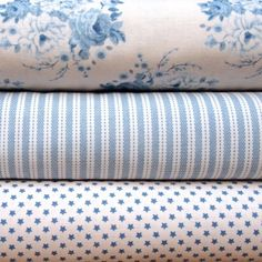 Tilda China Blues Fabric Bundle