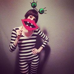 Pin for Later: These 130+ DIY Nostalgic Costumes Will Make You Feel Like a Kid Again Oblina From Aaahh!!! Real Monsters