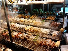 Must try malaysian street food: LOK LOK!