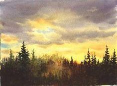 Susie Short Watercolors - Watercolor Landscapes by sara
