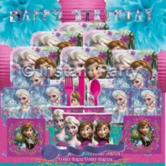 Party Packs :: Girls Party Packs :: Frozen Prestige Party Pack