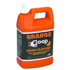 1 Gallon Citrus Hand Cleaner with Hand Pump  - Available for sale online and in stores at Harbor Freight Tools