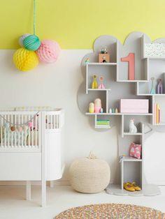 Stylish pastel Scandinavian nursery | 10 Sweet Girls Nurseries - Tinyme Blog