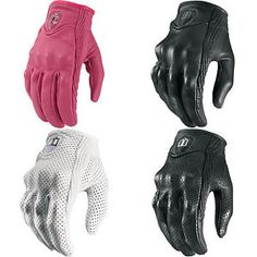 icon para mujer pursuit guantes para moto guantes - Categoria: Avisos Clasificados Gratis  Estado del Producto: New with tagsWelcome to Get Lowered CyclesIcon Women's Pursuit Gloves This item fits: See Size Chart Below Supple sheepskin leather conforms to your hand, plus durable integrated knuckle armor is there for protection Reinforced goatskin palm combats those nasty encounters with the asphalt Your choice of perforated chassis black or white for maximum airflow or nonperforated chassis…