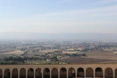 Fiew of the surrounding landscape Basilica di San Francesco | Piazza San Francesco, 2, 06081 A
