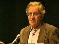 Noam Chomsky speaks about Universal Linguistics: Origins of Language - YouTube
