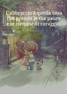 *******The embrace is that thing that takes your fears and turns them into courage Black Paper Drawing, Cogito Ergo Sum, Italian Quotes, The Embrace, Friendship Quotes, Besties, Bff, Me Quotes, Nostalgia