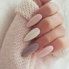 Neutral Pastels - These Pretty Pastel Nails Are Perfect For Spring - Photos