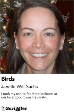 Birds by Janelle Will-Sachs https://scriggler.com/detailPost/story/36472