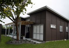 Customkit High Quality Wooden Houses, Kitset Homes, Kit Homes, Kitset Homes NZ… Shed Homes, Kit Homes, Open House Plans, Compact House, Open Living Area, Modern Bedroom, Building A House, Barn Houses, Wooden Houses