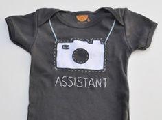 Pequeño body de asistente de cámara en Ropa, vestidos y bodies, para bebés, niños y niñas