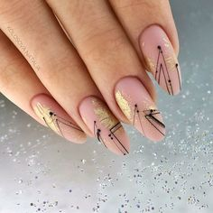 In seek out some nail styles and some ideas for your nails? Listed here is our list of must-try coffin acrylic nails for cool women. Ongles Rose Pastel, Pastel Pink Nails, Peach Nails, Almond Acrylic Nails, Cute Acrylic Nails, Cute Nails, Gel Nail Art, Elegant Nails, Stylish Nails