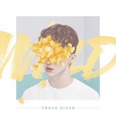 Kết quả hình ảnh cho Troye Sivan's custom cover art