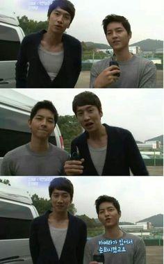 Song Joong Ki & Lee Kwang Soo